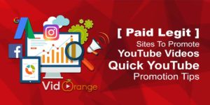 [ Paid Legit ] Sites To Promote YouTube Videos | Quick YouTube Promotion Tips